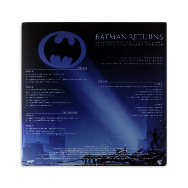 Batman Returns Kilian Eng vinyl back art