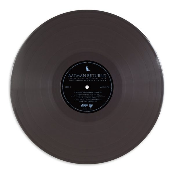 Batman Returns Kilian Eng vinyl grey record
