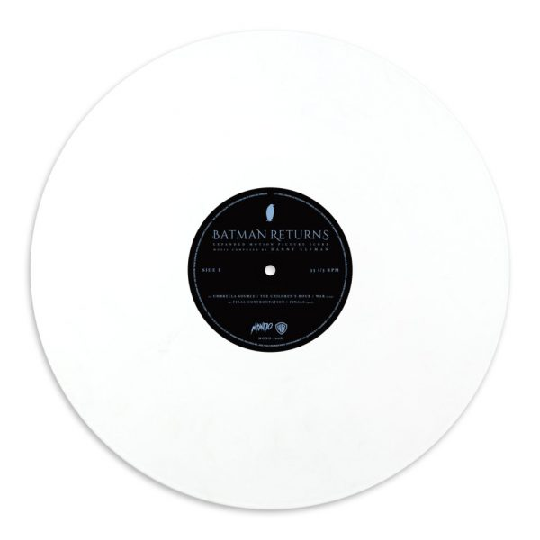 Batman Returns Kilian Eng vinyl white record