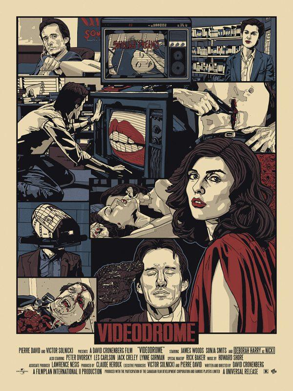 New Flesh Videodrome Poster reg