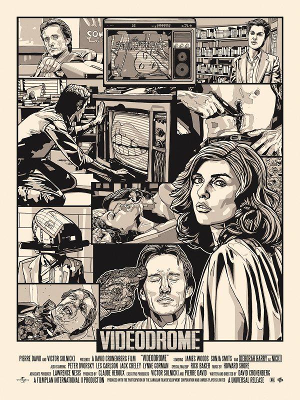 New Flesh Videodrome Poster var