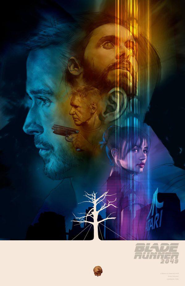 Ben Oliver Blade Runner 2049 Poster