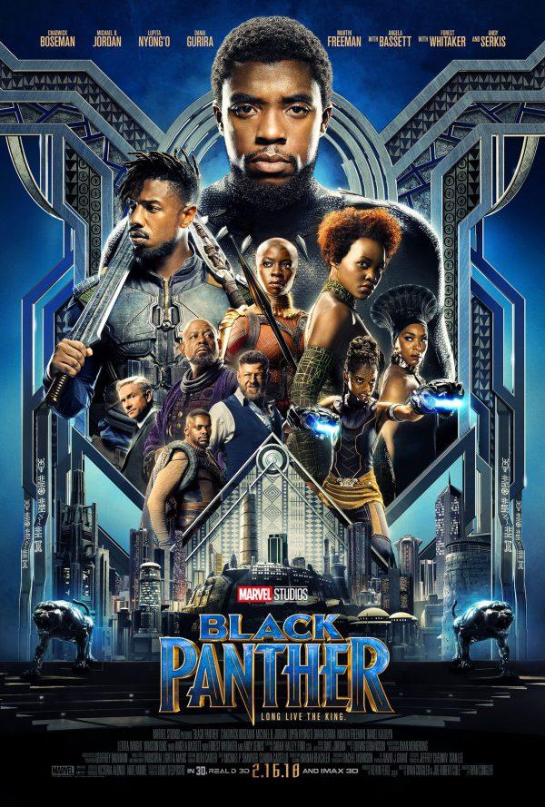 Black Panther Poster Chadwick Boseman