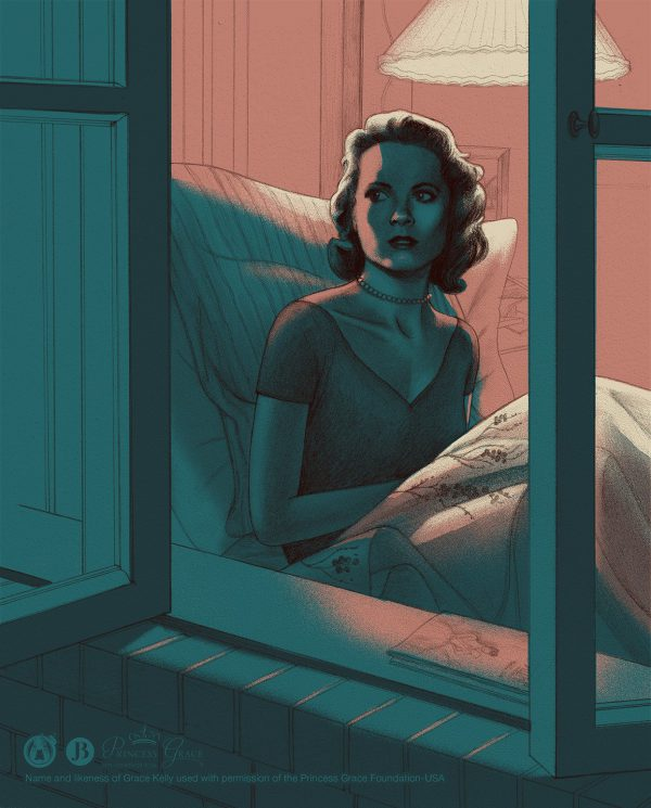Jonathan Burton Rear Window Mini Print