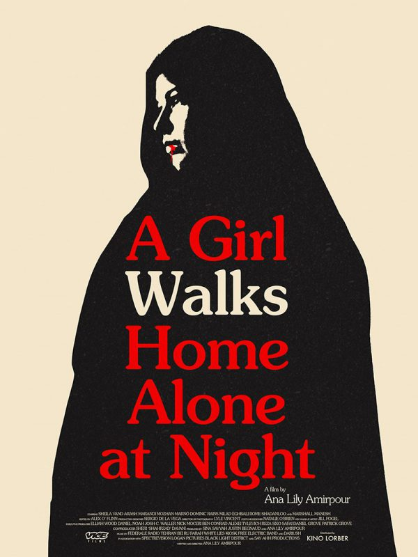 Midnight Marauder Girl Walks Home Alone At Night