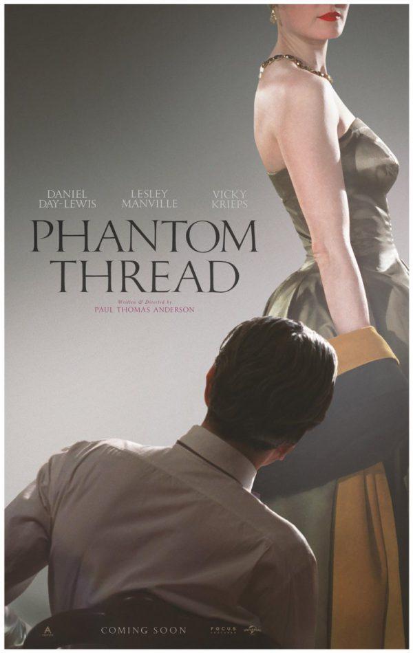 Phantom Thread Vicky Krieps Daniel Day Lewis Poster