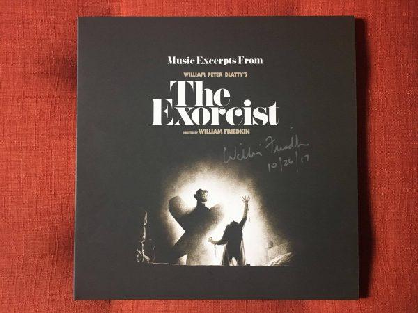 Waxwork Records Exorcist vinyl cover