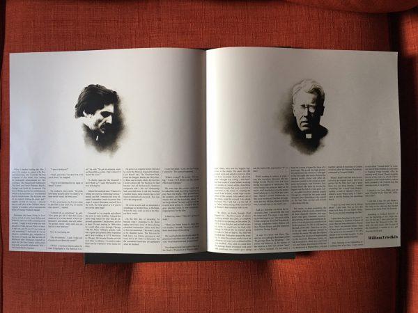 Waxwork Records Exorcist vinyl book spread