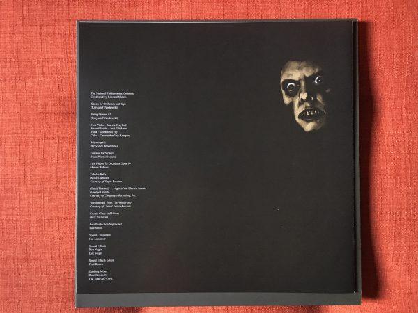 Waxwork Records Exorcist vinyl book