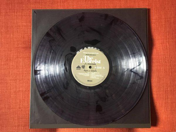 Waxwork Records Exorcist vinyl disc