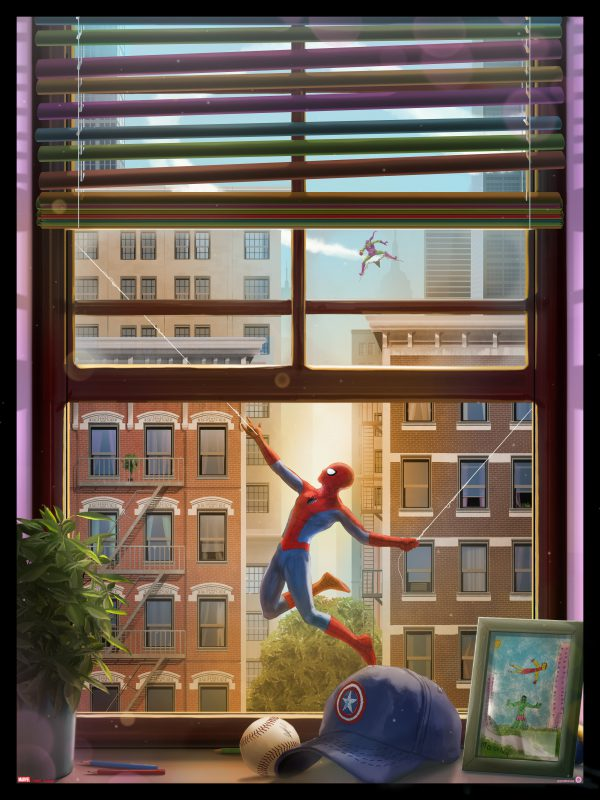 Andy Fairhurst Spider-Man