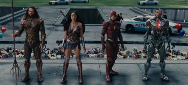Justice League review Gal Gadot Ray Fisher Jason Momoa Ezra Miller