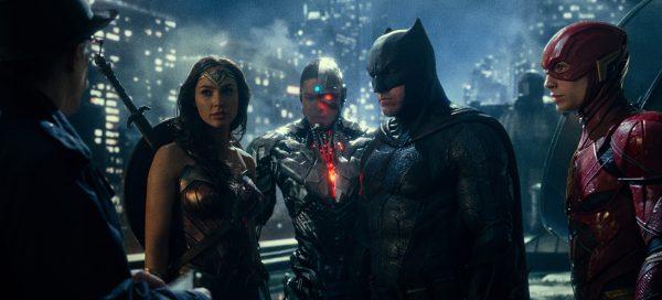 Justice League review Gal Gadot Ray Fisher Jason Momoa Ezra Miller Ben Affleck