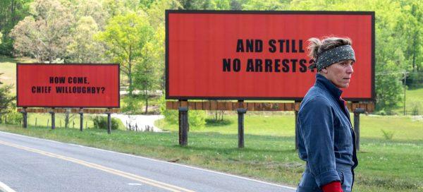 three billboards review Frances McDormand