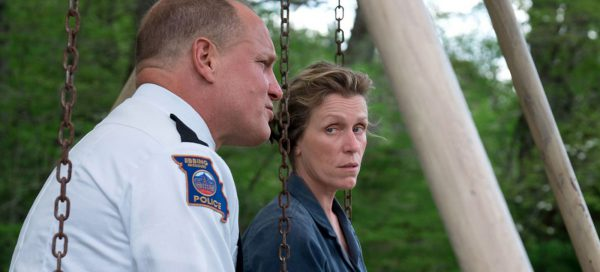 three billboards review Frances McDormand Woody Harrelson