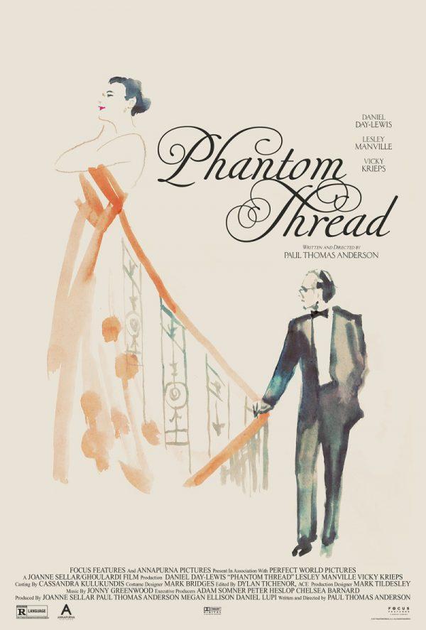 Phantom Thread poster Midnight Marauder Tony Stella 3