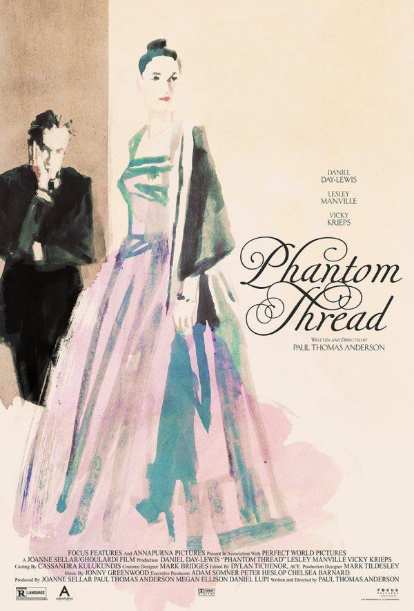 Phantom Thread poster Midnight Marauder Tony Stella 1