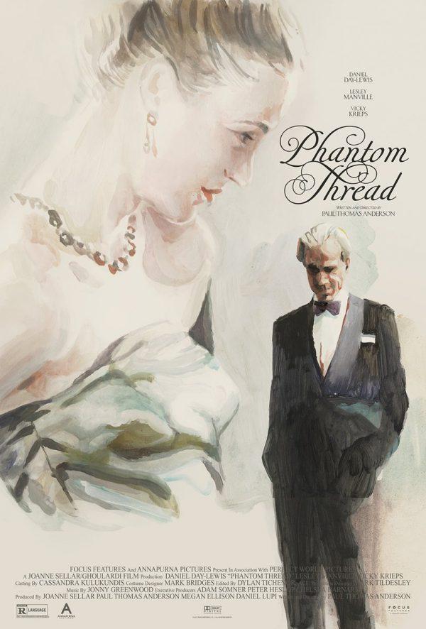 Phantom Thread poster Midnight Marauder Tony Stella 2