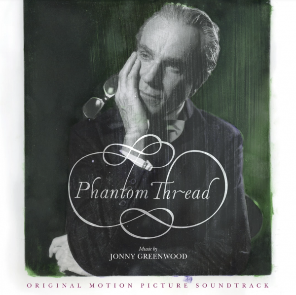 Jonny Greenwood Phantom Thread soundtrack cover art