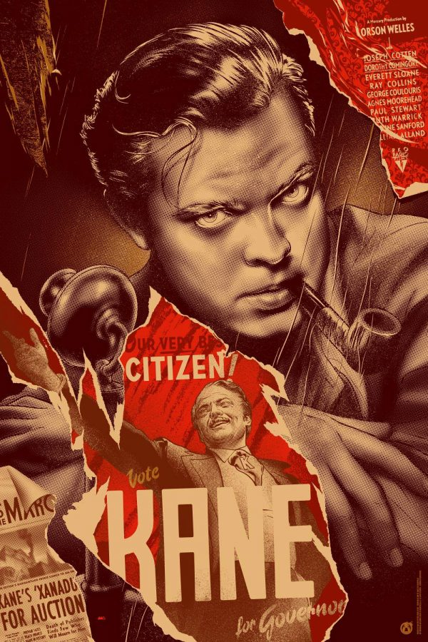 Citizen Kane Martin Ansin wood
