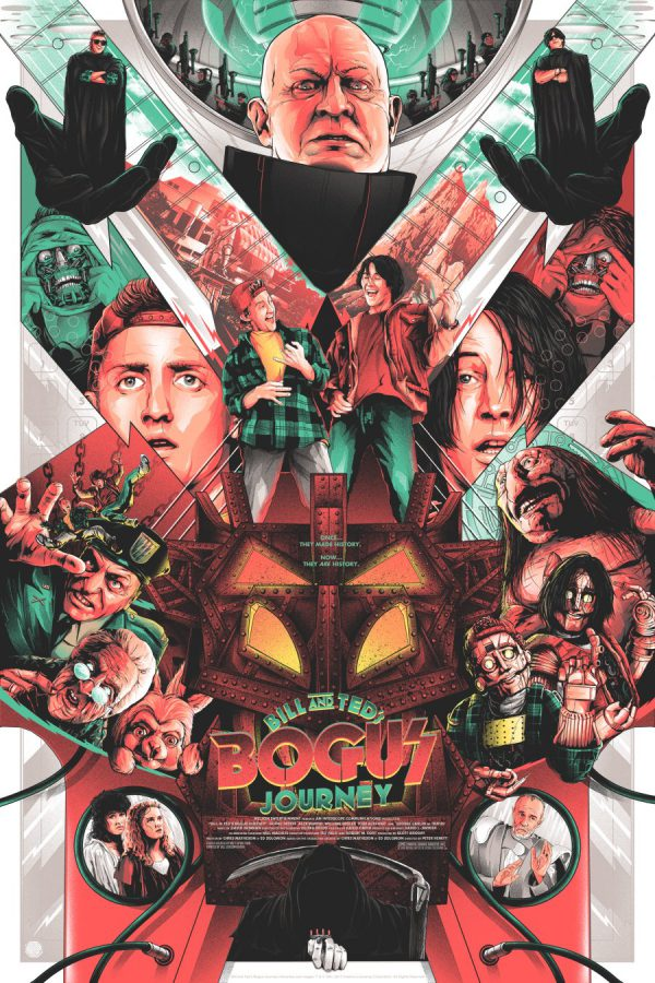 Matt Ryan Tobin Bill & Ted's Bogus Journey poster