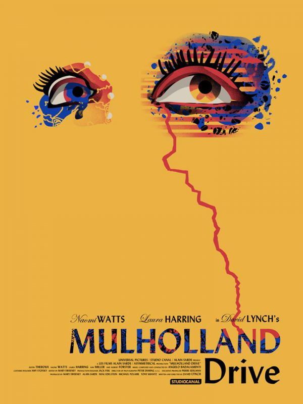WBYK Mulholland Drive poster
