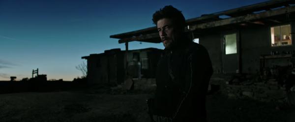 Soldado trailer Benicio del Toro