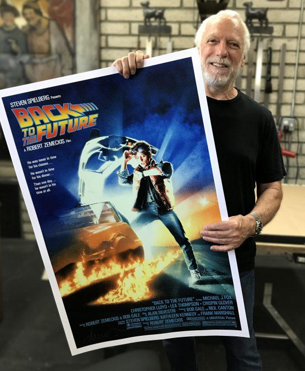 Drew Struzan Back to the Future Hero Complex poster
