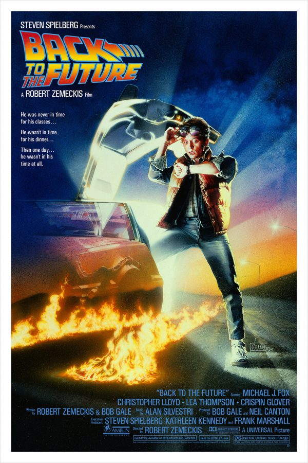 Drew Struzan Back to the Future Hero Complex poster one sheet