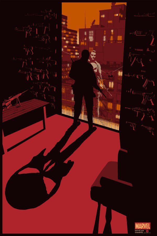 Raid71 Spider-Man Punisher poster