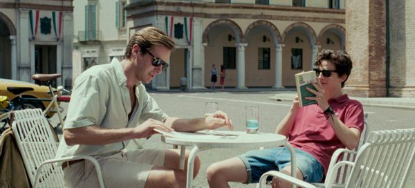 Call Me By Your Name review Armie Hammer Timothee Chalamet still