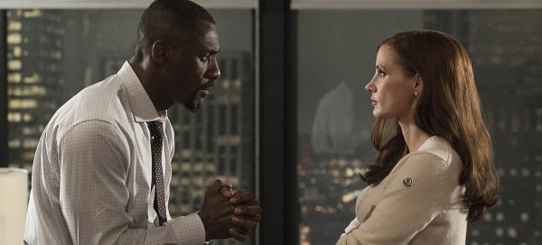Molly's Game review Jessica Chastain Idris Elba Aaron Sorkin