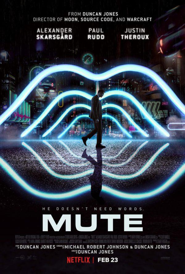 Mute Duncan Jones Netflix poster
