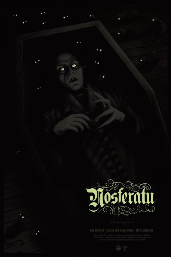 Sara Deck Nosferatu poster glow
