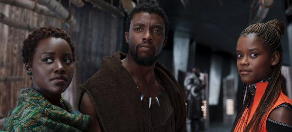 Black Panther review Chadwick Boseman Lupita Nyong'o Letitia Wright