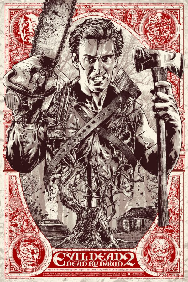 Anthony Petrie Evil Dead 2 poster