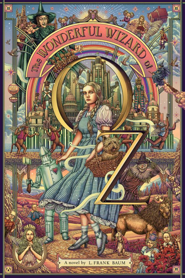 Ise Ananphada Wizard Oz poster variant