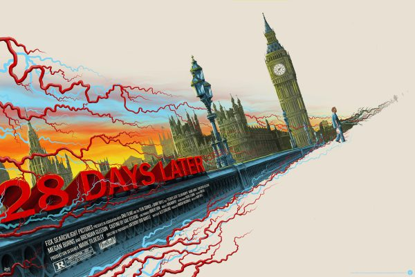Mike Saputo 28 Days Later poster reg