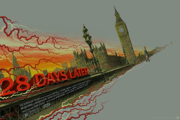 Mike Saputo 28 Days Later poster var