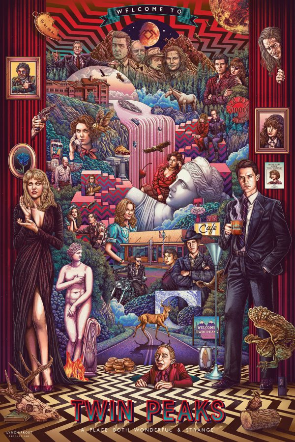 Ise Ananphada Twin Peaks poster