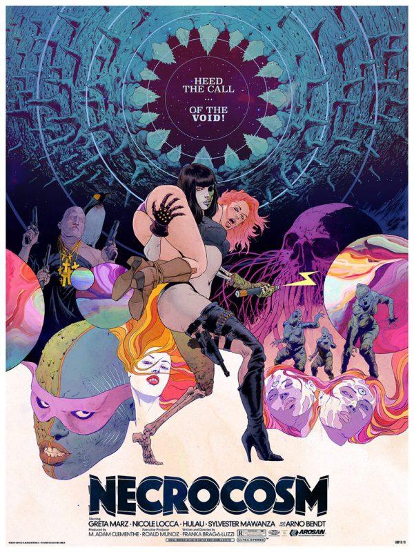 Robert Sammelin Necrocosm poster