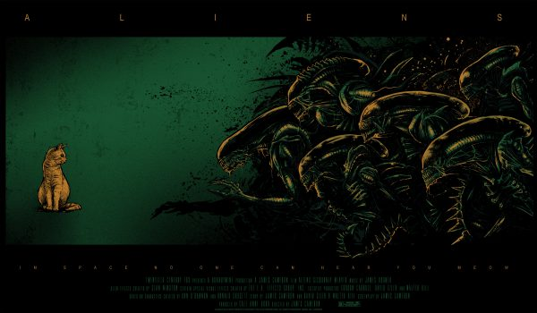 Aliens Godmachine poster