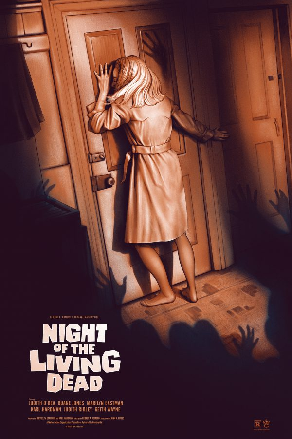 Night of the Living Dead Sara Deck poster reg