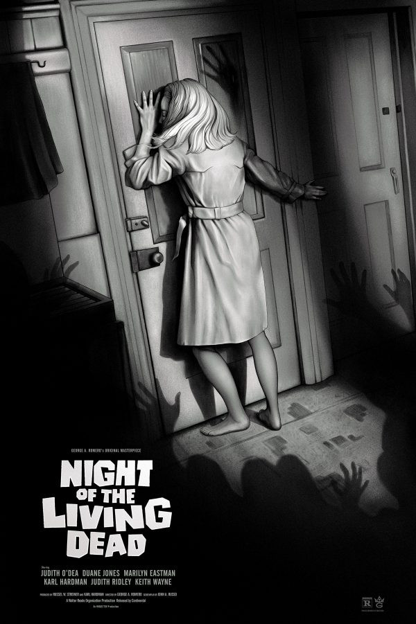 Night of the Living Dead Sara Deck poster var