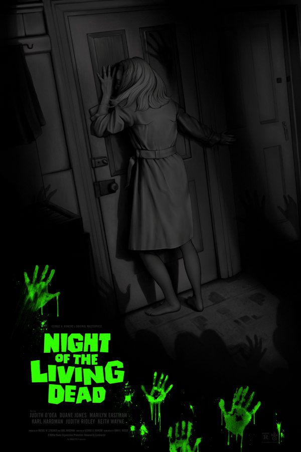Night of the Living Dead Sara Deck poster var gid