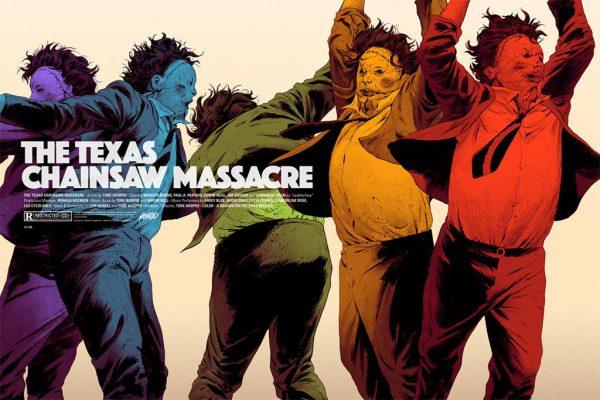 Robert Sammelin Texas Chainsaw poster