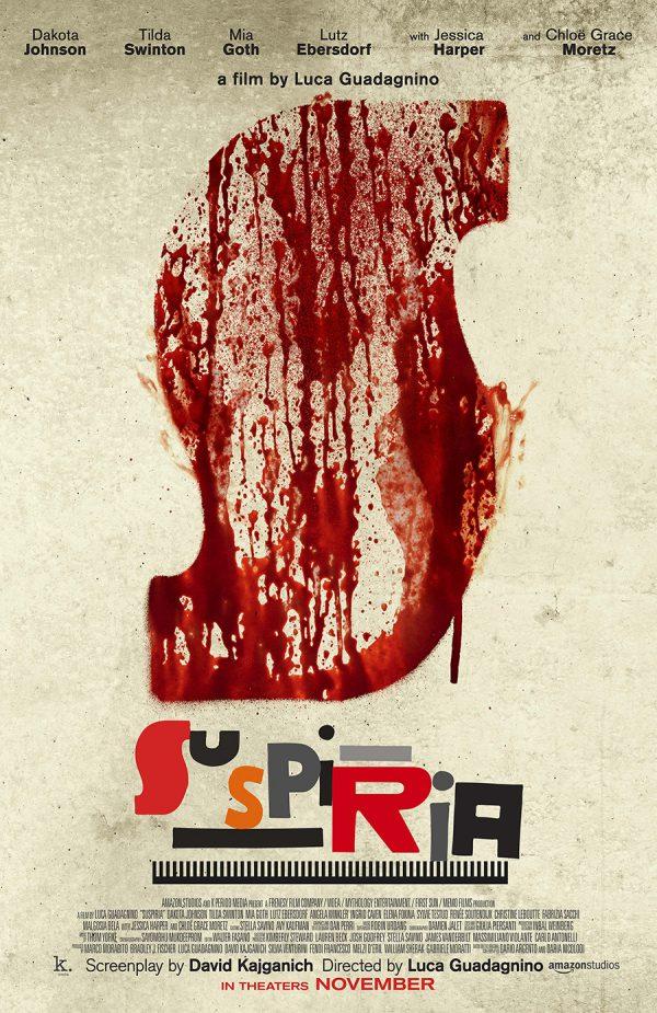 Suspiria 2018 poster Luca Guadagnino