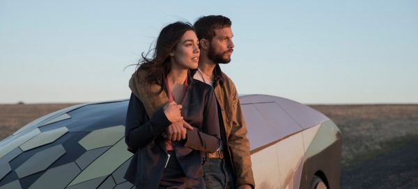 Upgrade movie review Logan Marshall-Green Melanie Vallejo