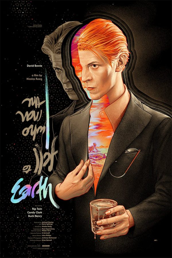 Martin Ansin SDCC Mondo Man Who Fell to Earth