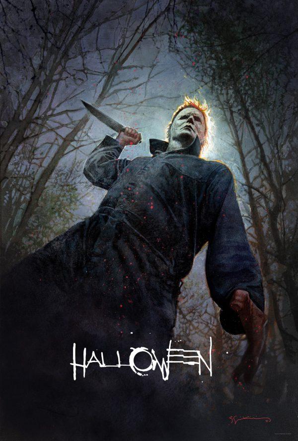 Bill Sienkiewicz Halloween SDCC poster